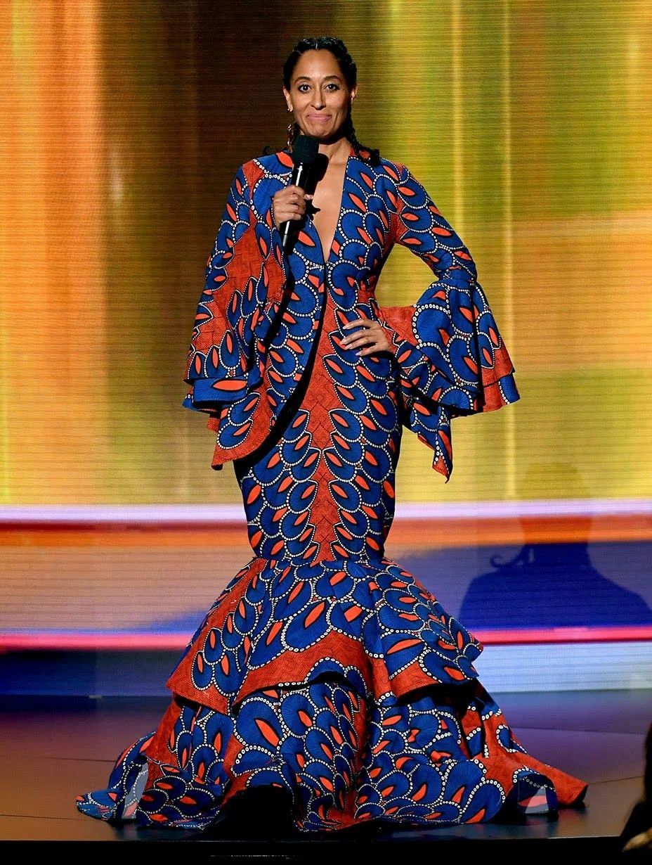 Tracee Ellis Ross at the AMAs | African clothing styles, African ...