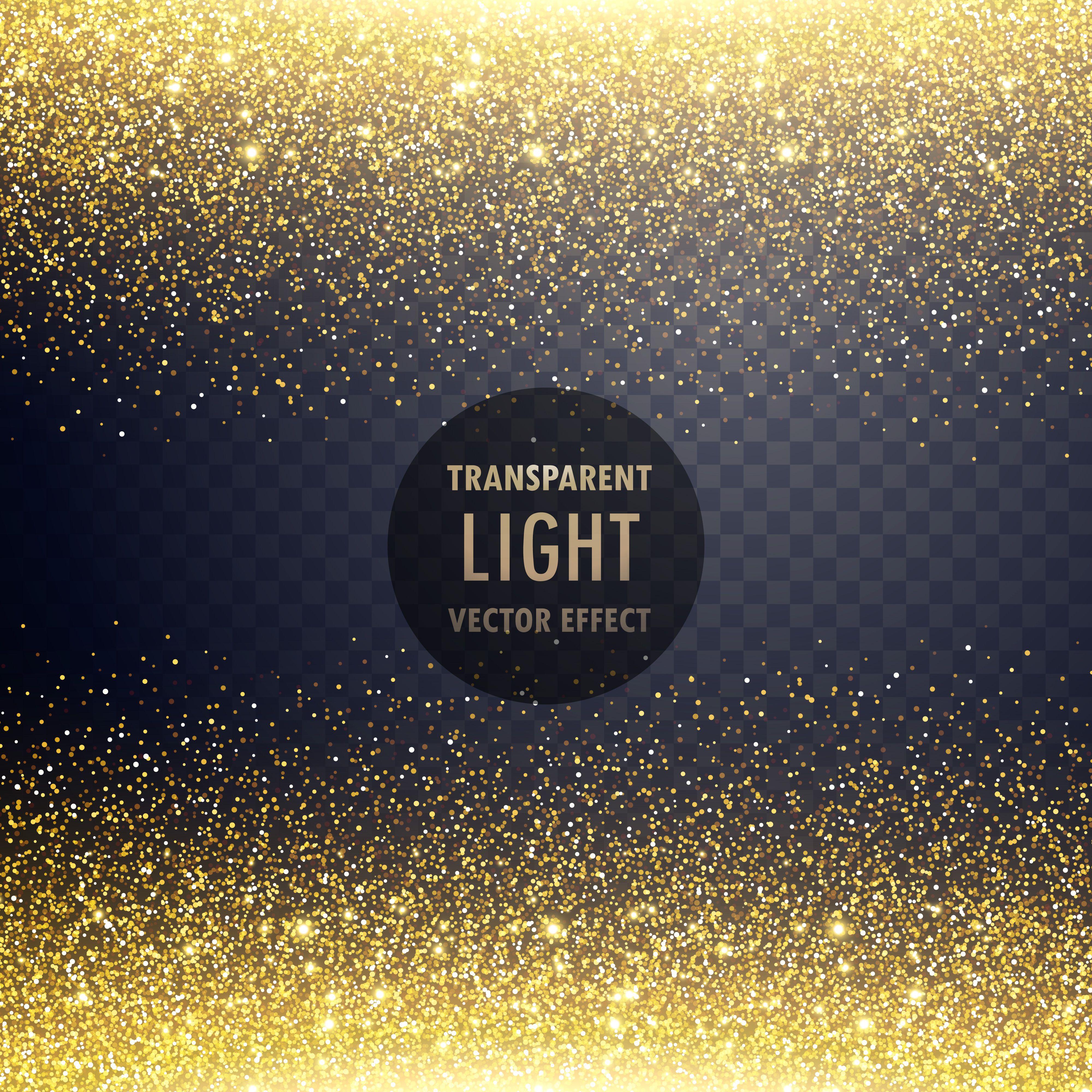 Transparent Golden Glitter Light Effect Background Vector Choose From Thousands Of Free Vectors Clip Art Des Glitter Background Vector Free Vector Art Design