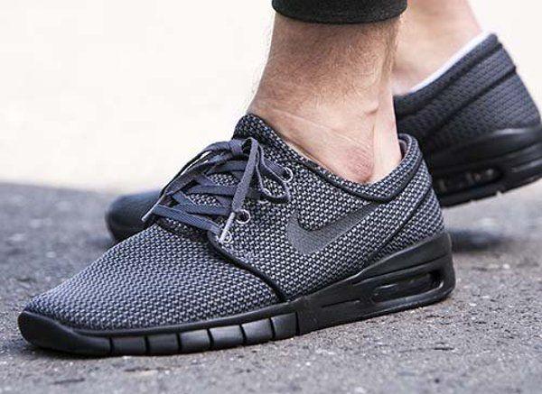 Découvrez la Nike SB Janoski Max Grey Black, une sneaker pour homme