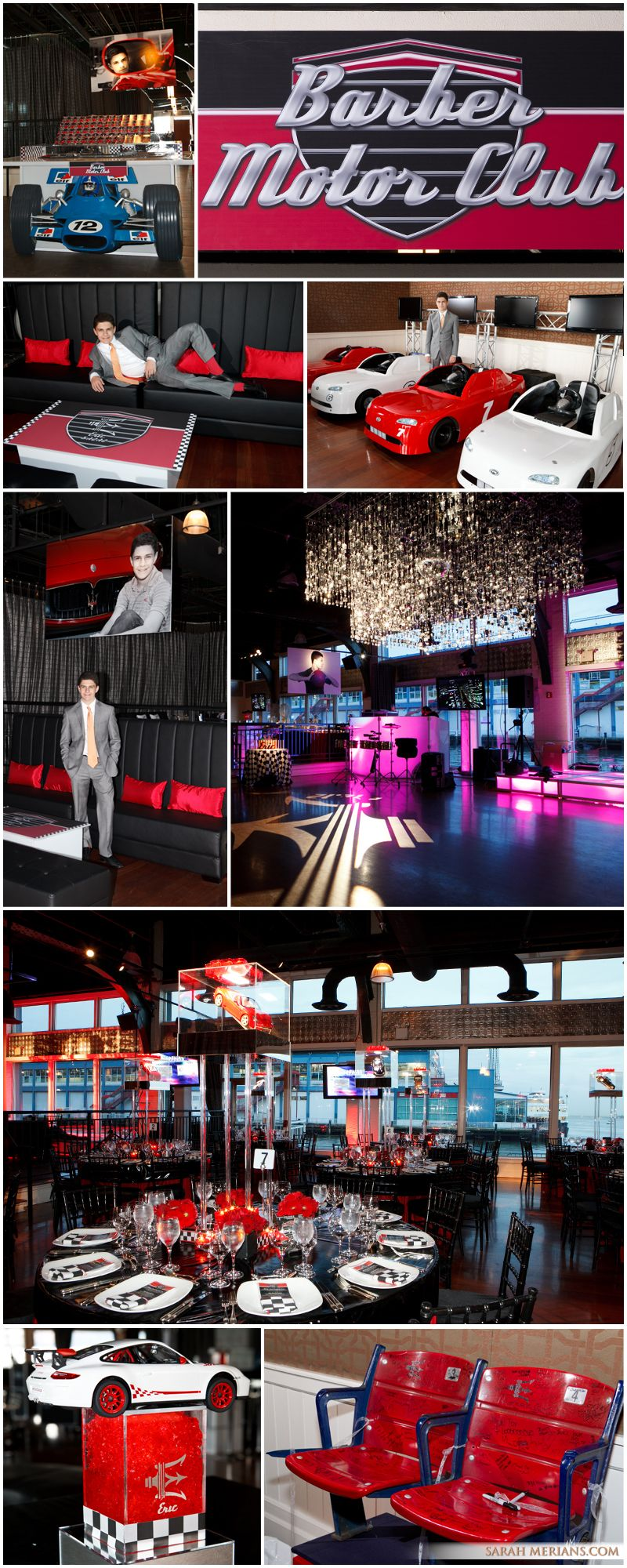 Eric's Bar Mitzvah at Central Synagogue and The Lighthouse at Chelsea Piers