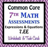 Common Core Assessments Math - 7th - Seventh Grade - Expre