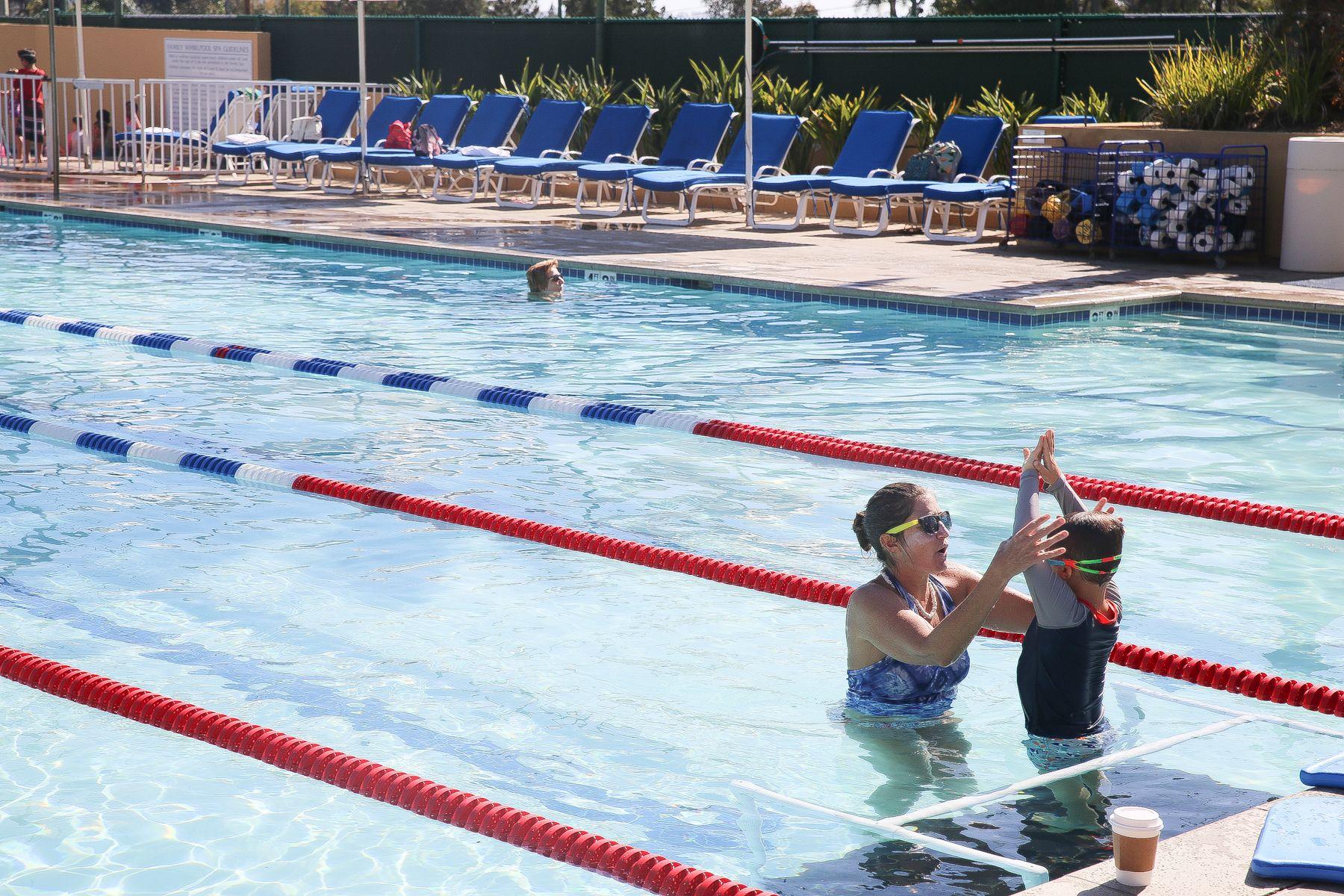 Getting Your Kids Swim Ready Kids swimming, Swim lessons