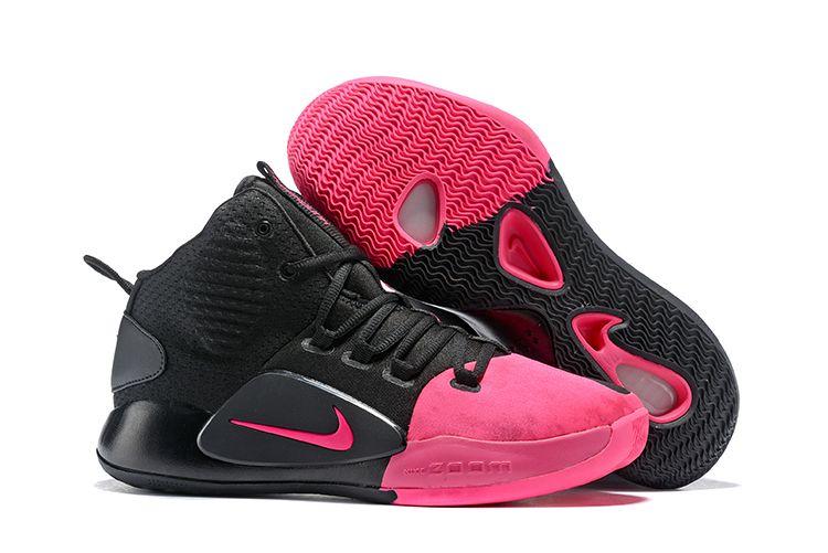 "premium selection dd8b9 b49a7 2018 Nike Hyperdunk X ""Kay Yow"" Black Pink AV2059-001"