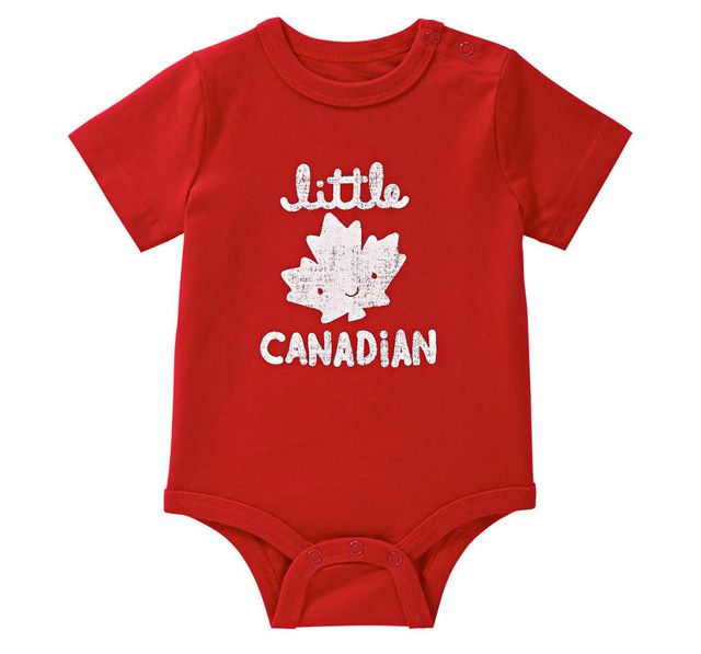 Canada Day Styles Perfect For Your Baby Baby Clothes Canada Funny Boy Onesies Joe Fresh Baby