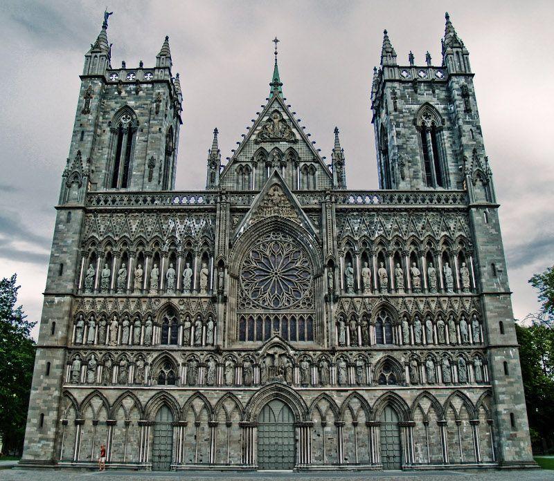 Nidaros Cathedral (Tronheim, Norway, Scandinavia)
