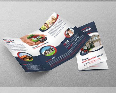 professional tri fold templates by grafilker modern graphic design