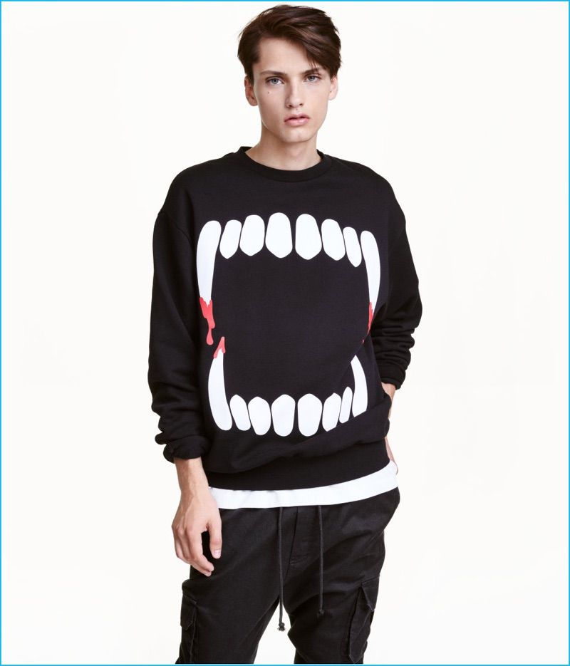 Just In Discover H M S Halloween Fashions Men S Sweatshirts