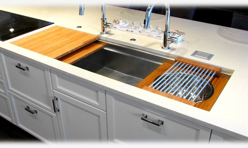 The Two Tiers Of The 4 5 1 2 And 7 Galley Workstation With The