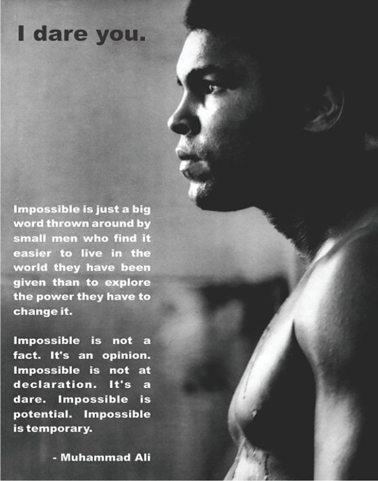 Top 20 Powerful Inspirational Quotes From Muhammad Ali