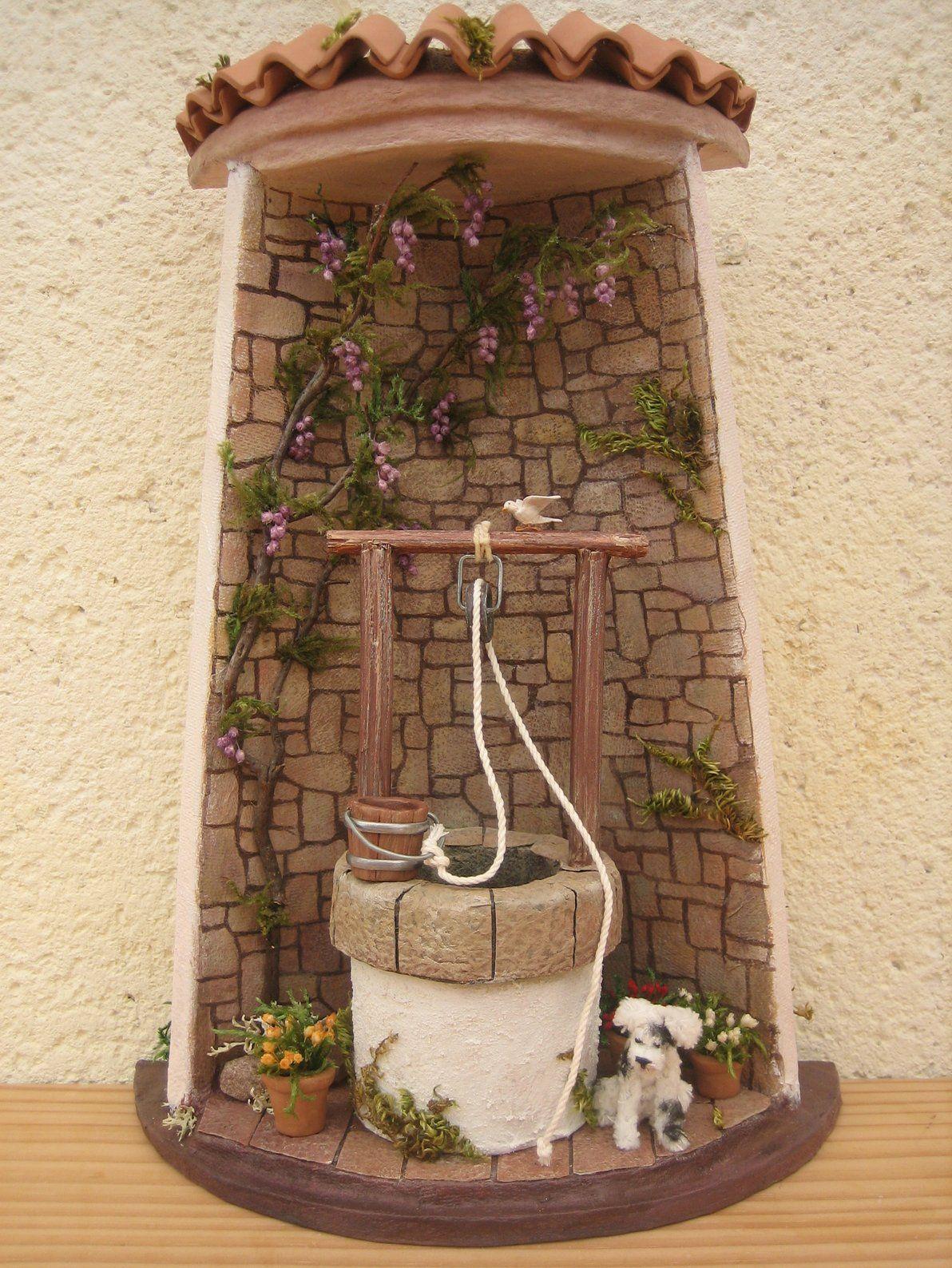 Tejas Decoradas Diy Fairy Houses Decoupage Manualidades Crafts