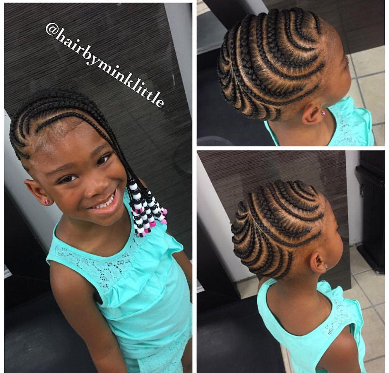 Coiffure Pour Petite Fille Noire Cheveux Court