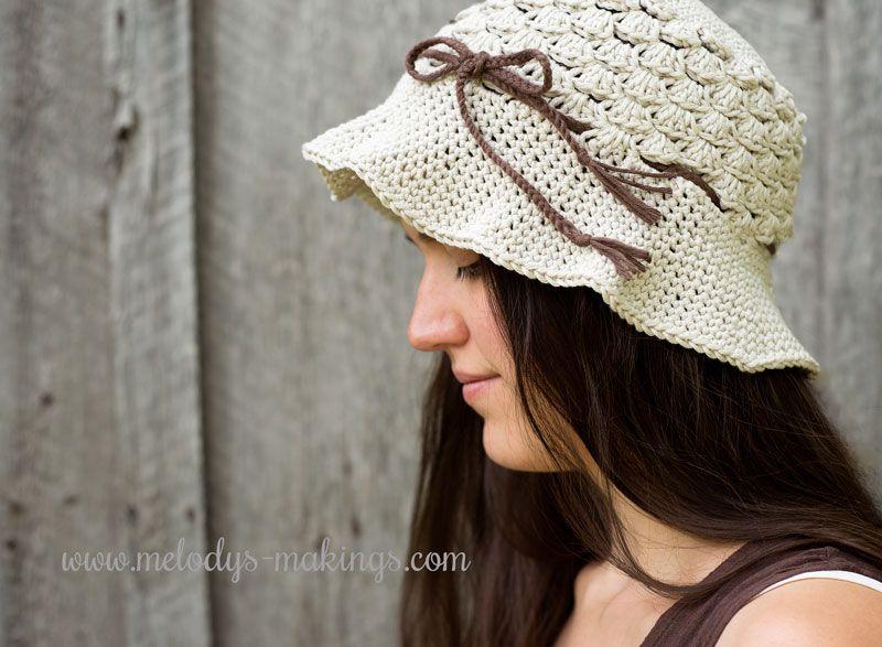 Pebble Beach Hat {Free Pattern}   Vestidos tejidos, Caballeros y Gorros