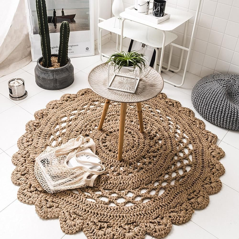 Photo of Arlo – Hand Woven Crochet Rug