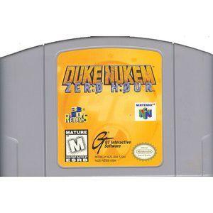Duke Nukem Zero Hour - N64 Game