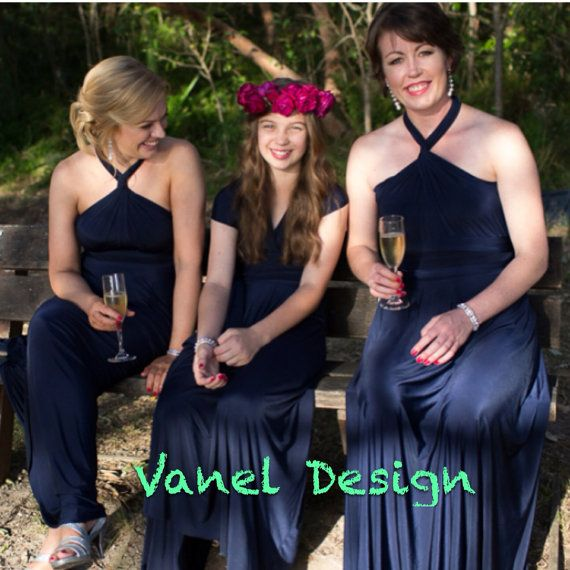 133e03fc881 Convertible dress Infinity Dress Bridesmaids by VanelDesign ...