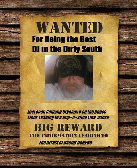 Wanted Poster Best Dj Broadway Dance