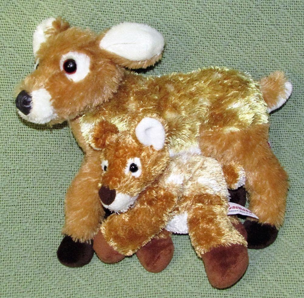 Predownload: Aurora Deer Fawn Plush Pair Momma Baby 13 8 Long Plush Stuffed Animals Wild Aurora Fawn Plush Animals Wild Plush Stuffed Animals [ 981 x 1000 Pixel ]