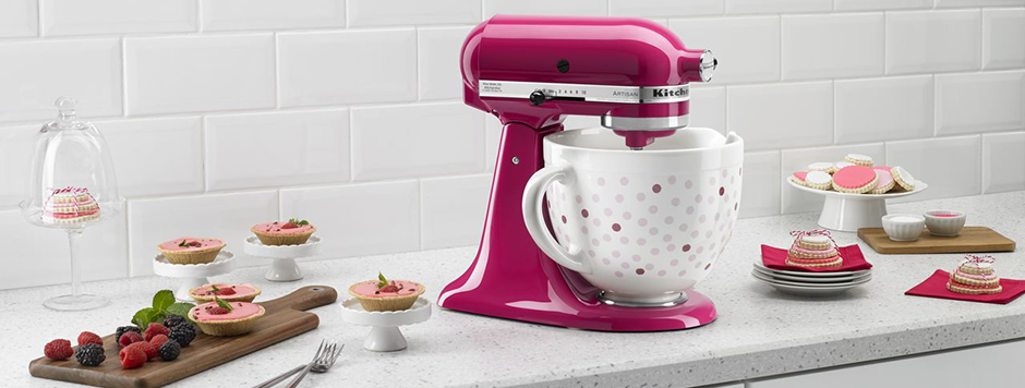 Kitchenaid® Pink Collection Handmixer | Kitchen aid mixer ...