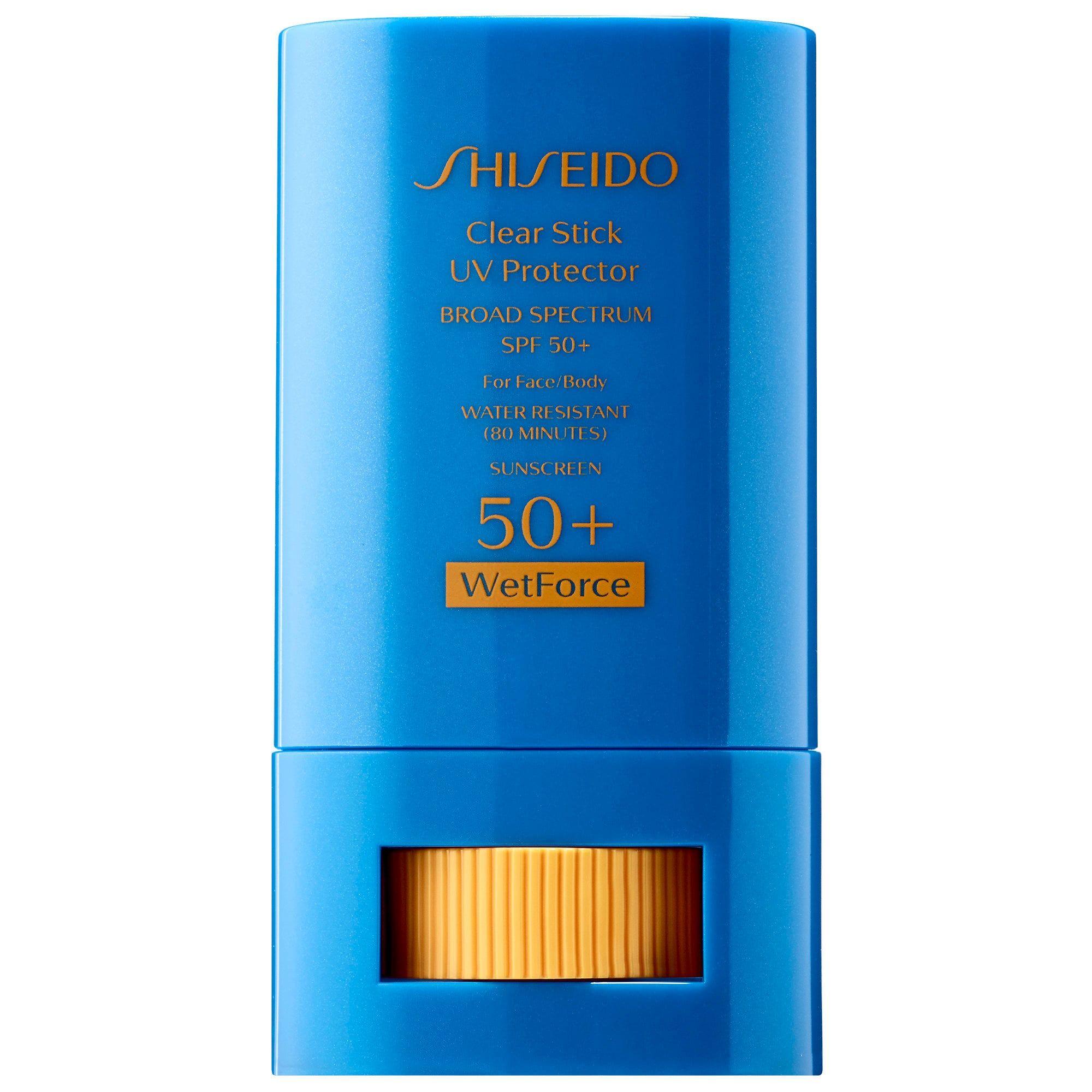Shiseido Clear Stick UV Protector WetForce Broad Spectrum