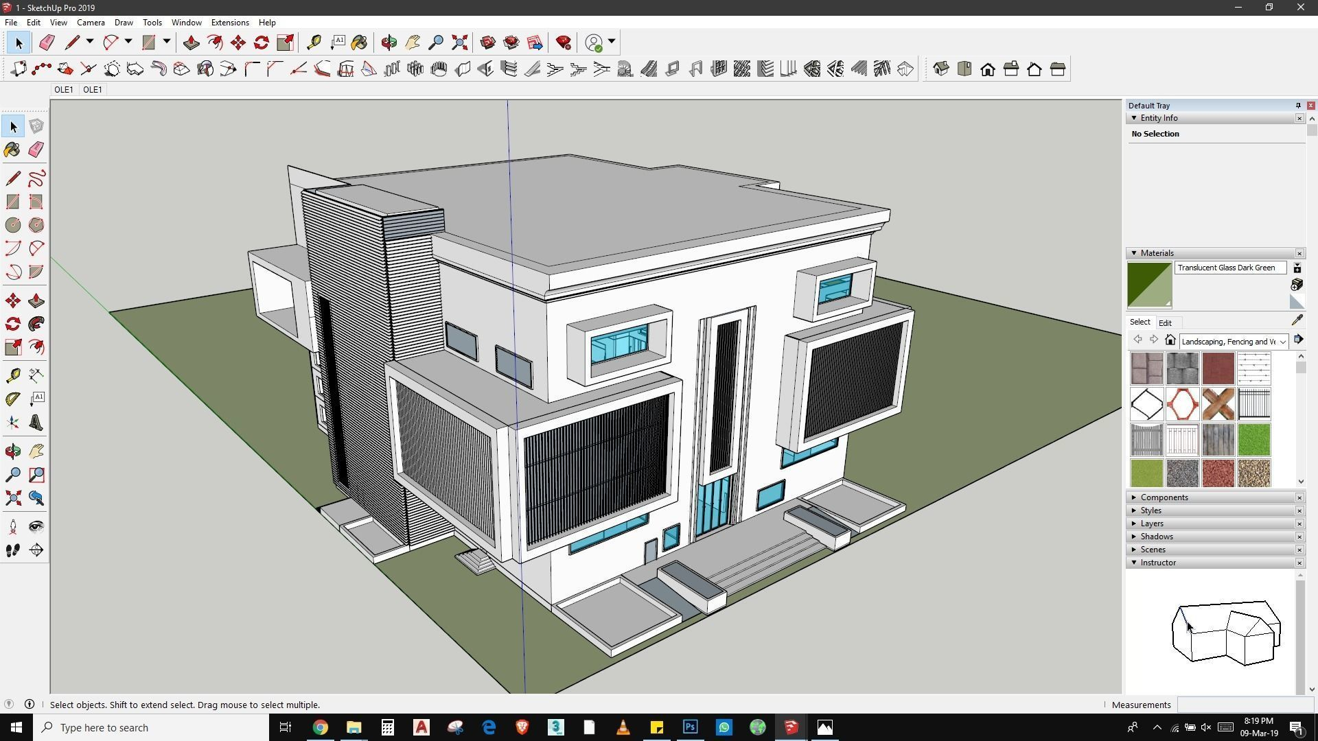 Commercial Building Design And Rendering In Lumion Sketchmode 3d