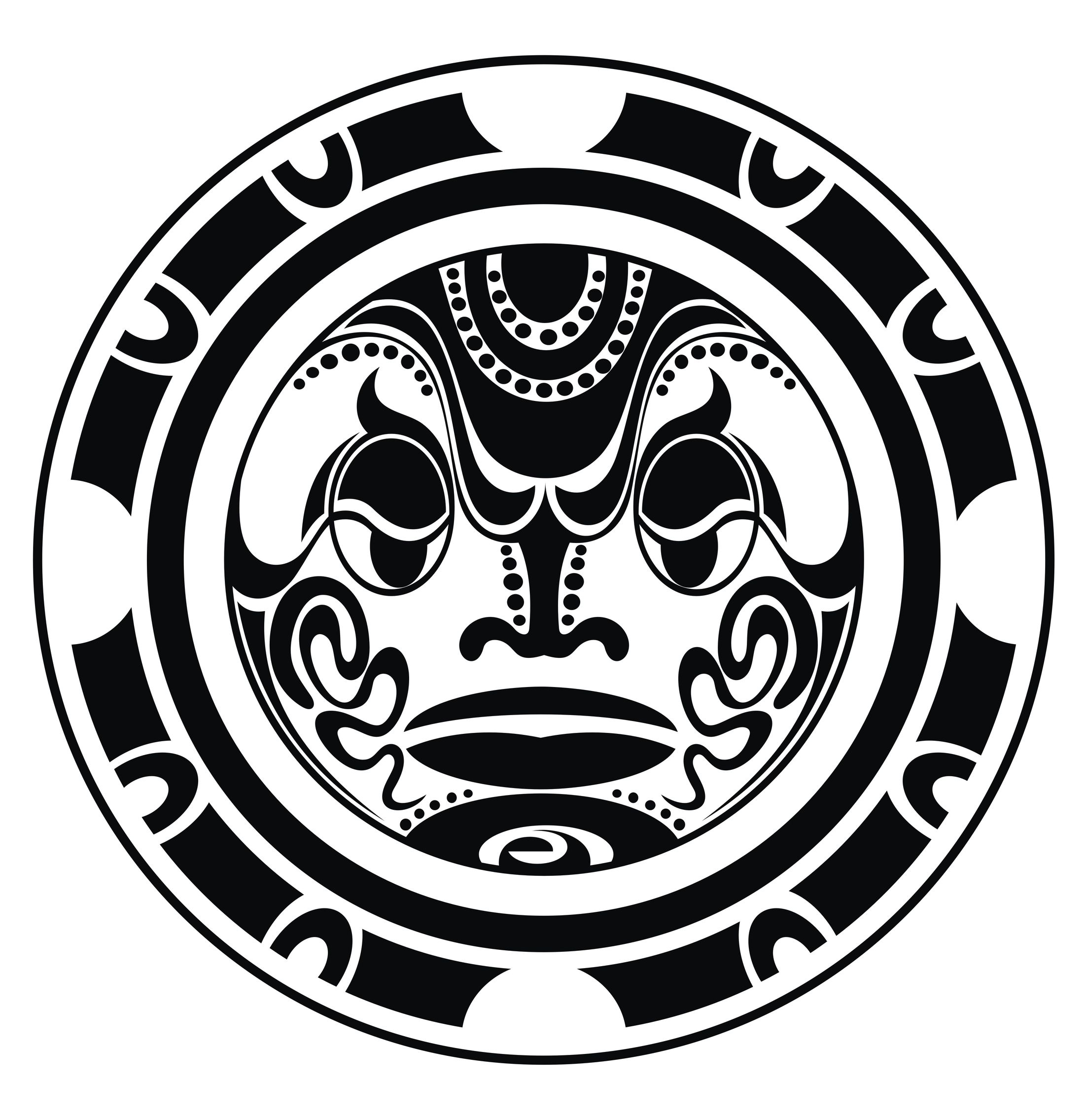Maori Sun Tattoo: Tongan Tattoos With Meanings