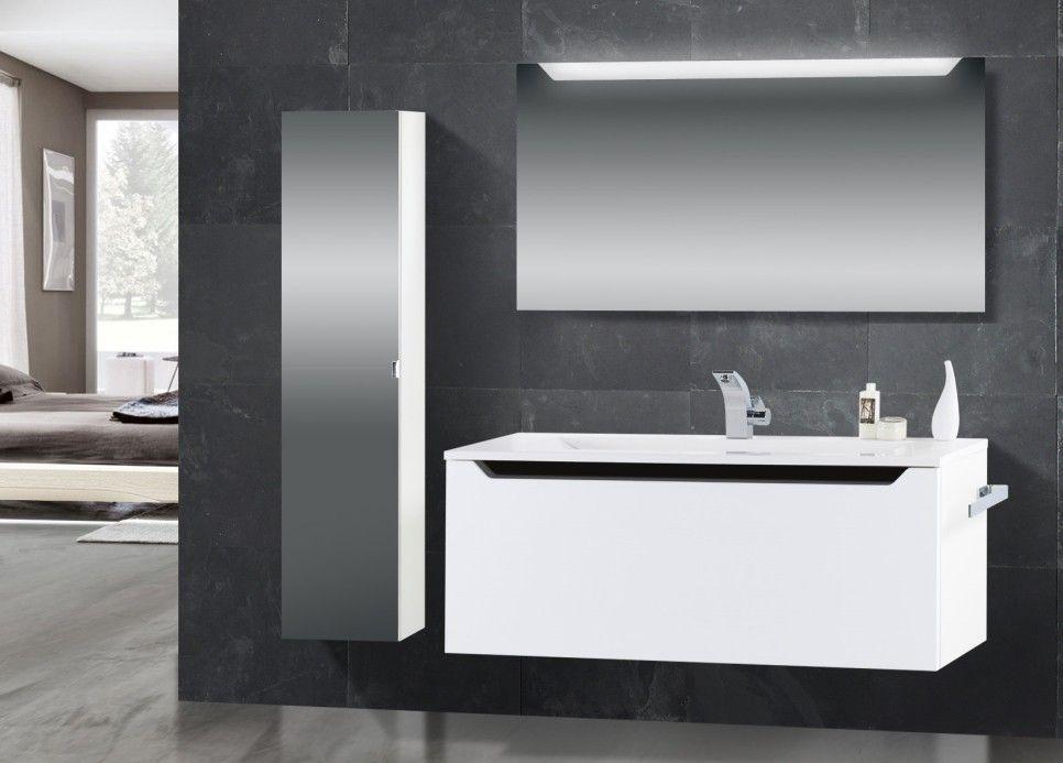 Badezimmermöbel hochglanz ~ Badezimmer toronto in hochglanz weiß jetzt bestellen unter