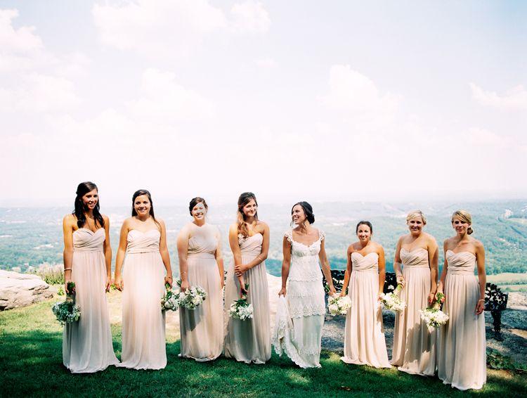 Doug Addie Featured In Southern Living Weddings Magazine Film Kodak Portra 400 Mamiya 645 Bridesmaid Wedding Photography Bridesmaid Dresses
