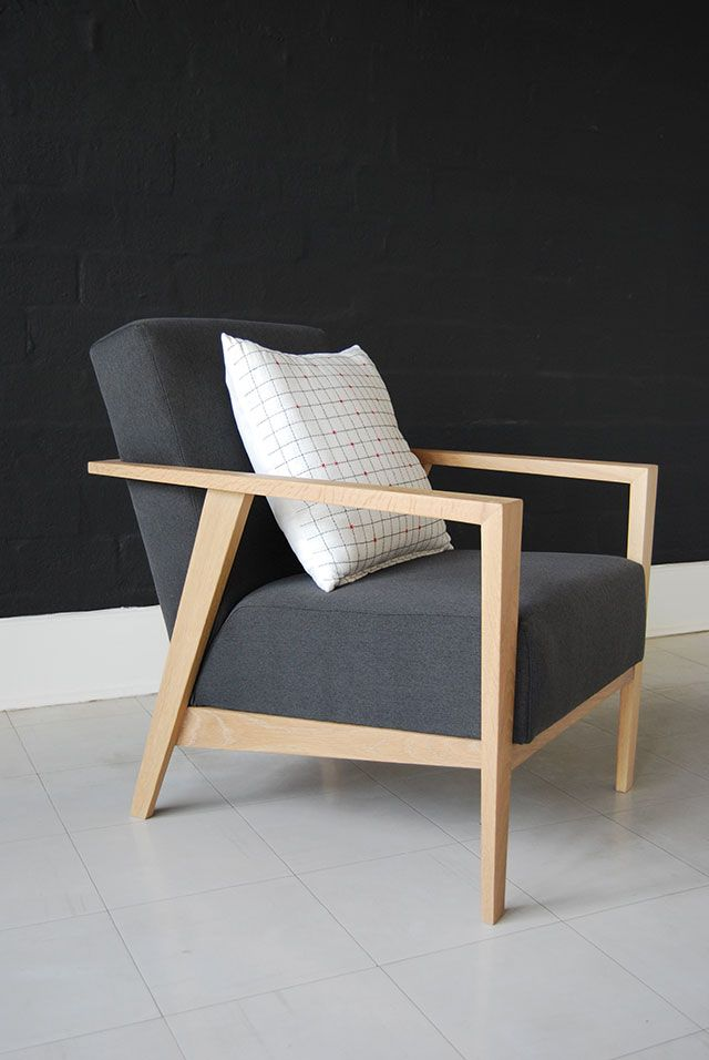contemporary wood chairs. Charlie Chair - Perfect Combo Of Modern Lines, Blonde Wood And Grey Fabric  De Steyl Quality Furniture Contemporary Chairs