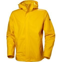 Helly Hansen Mens Moss Rain Winterjacke Yellow Shellyhansen.com