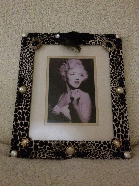 This Is A Decorative 8x10 Picture Frame It Took 4 Hours To Make
