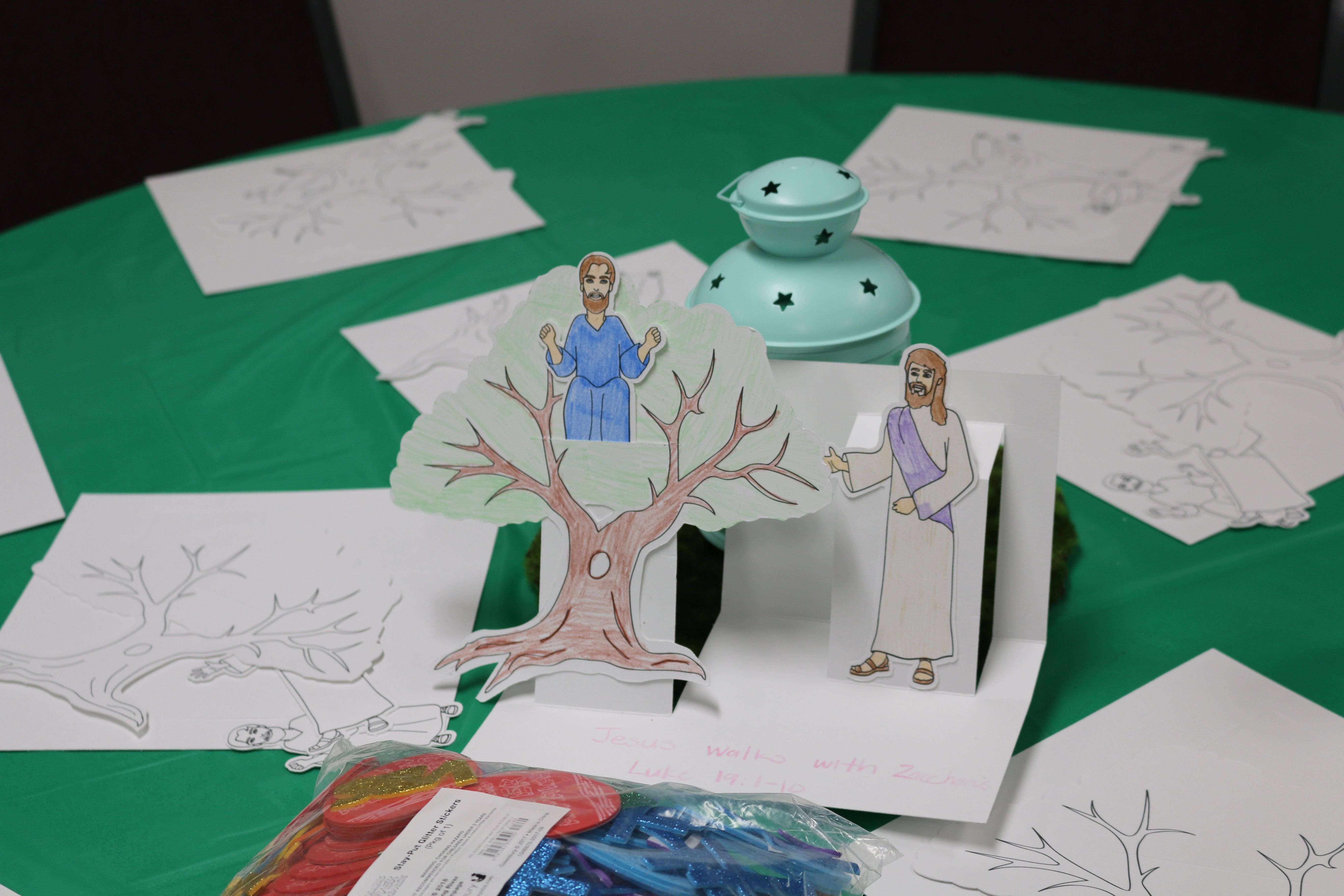 Your Rafters can tell the Bible story using their Zacchaeus Diorama ...