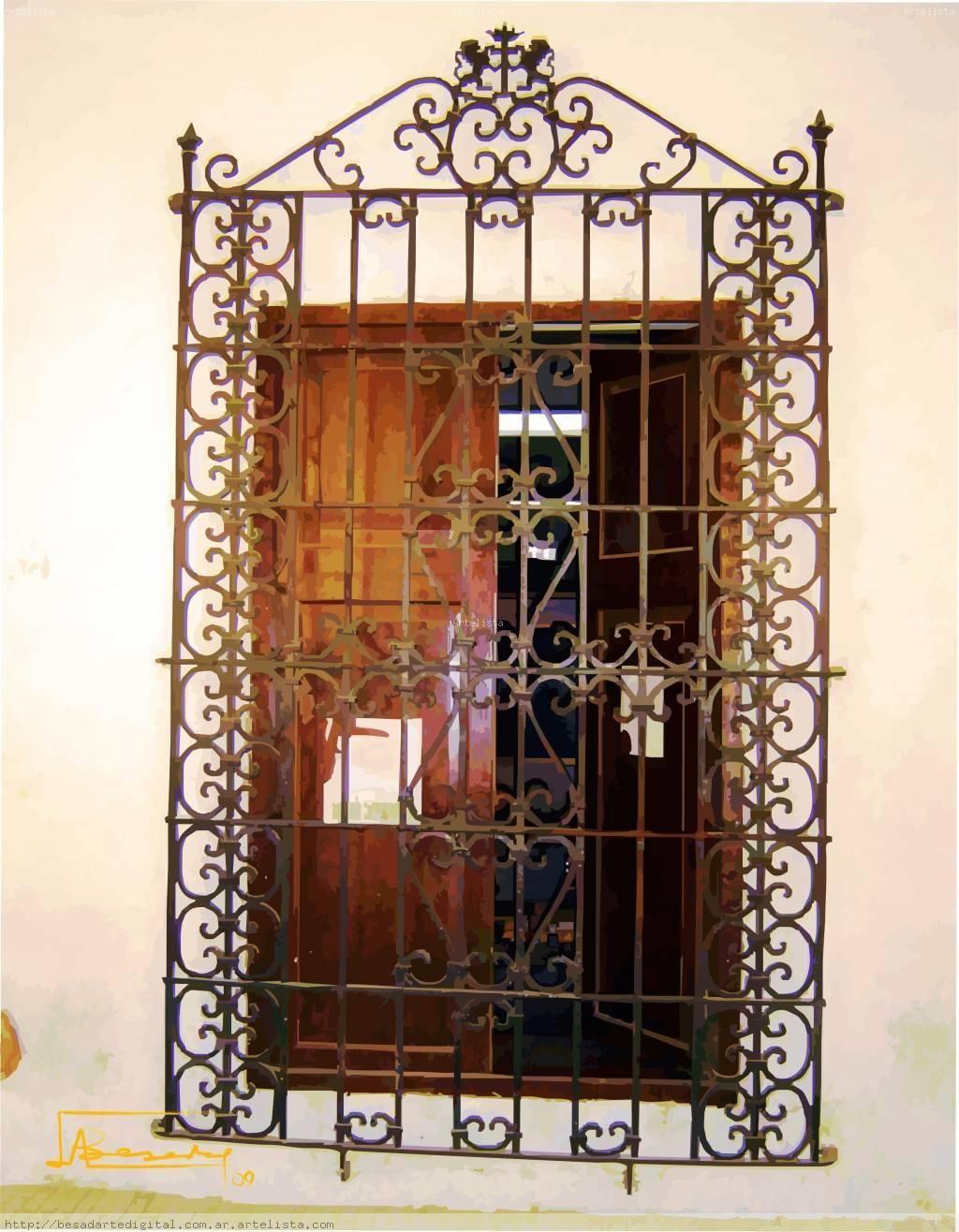 Imagenes de herreria colonial para ventanas buscar con for Ventanales tipo puerta