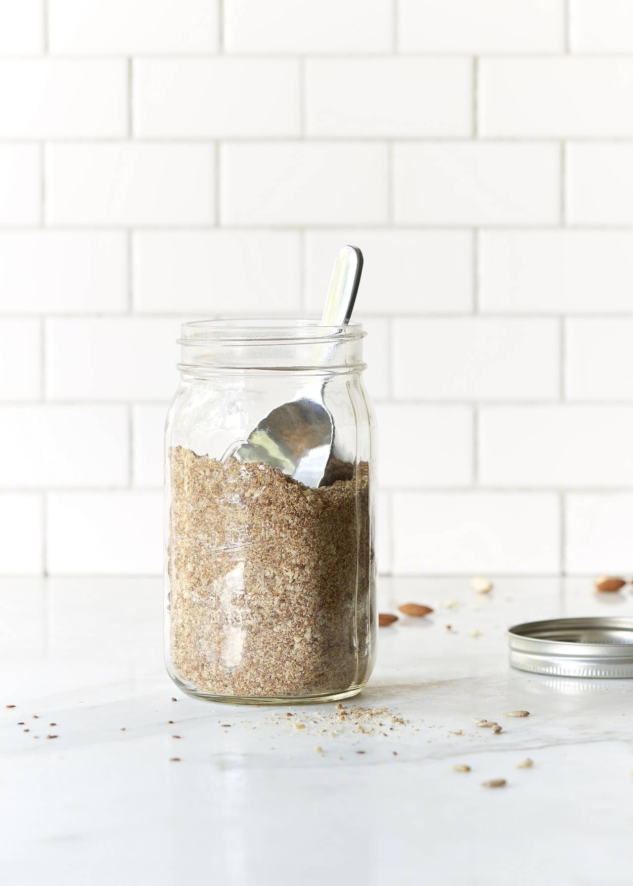 Homemade lsa make homemade lsa with raw almonds flax