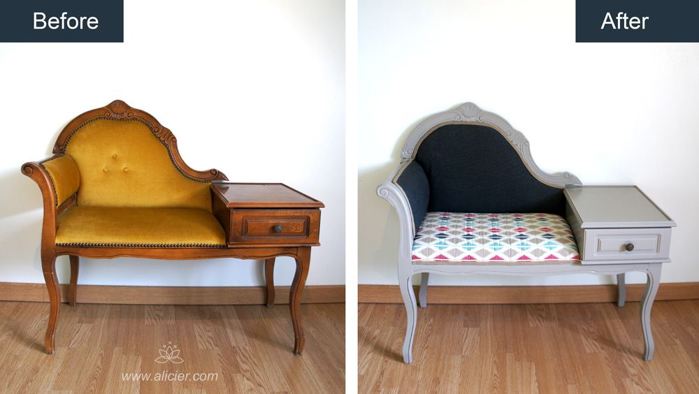 relooking fauteuil telephone