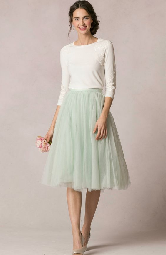 Jenny Yoo Collection Cute Skirt Outfits Modest Dresses Modest Outfits