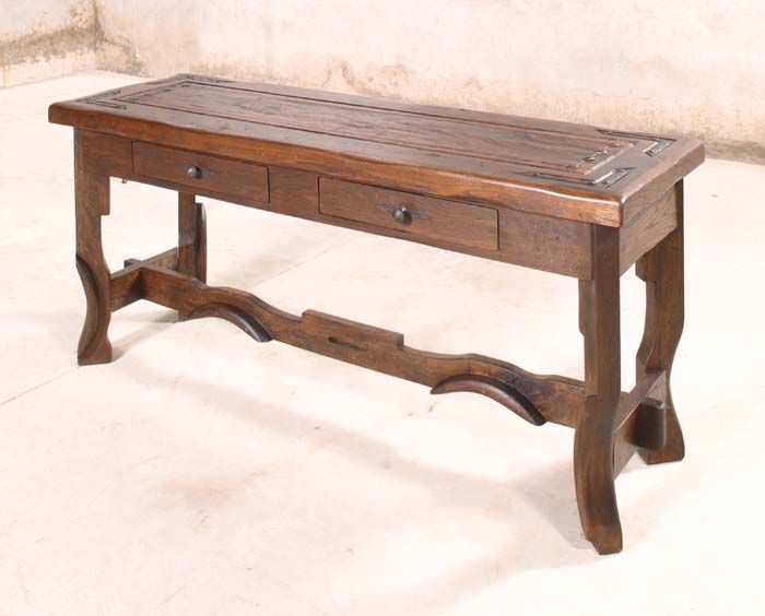 Nevada Console Table Western Sofa Tables Character Piece For A