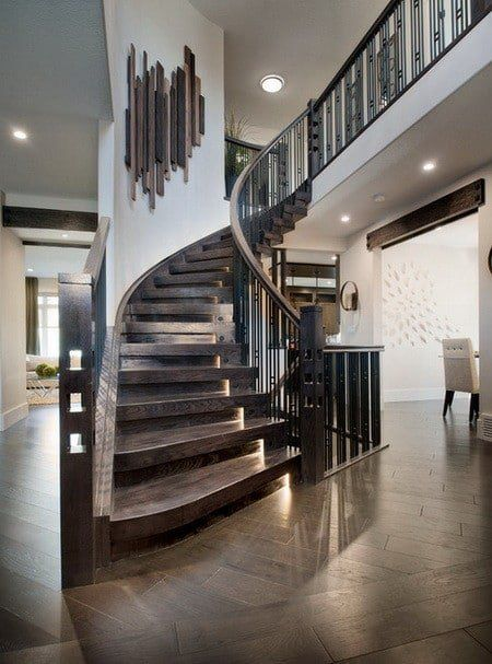 Love The Lighting On The Stairs