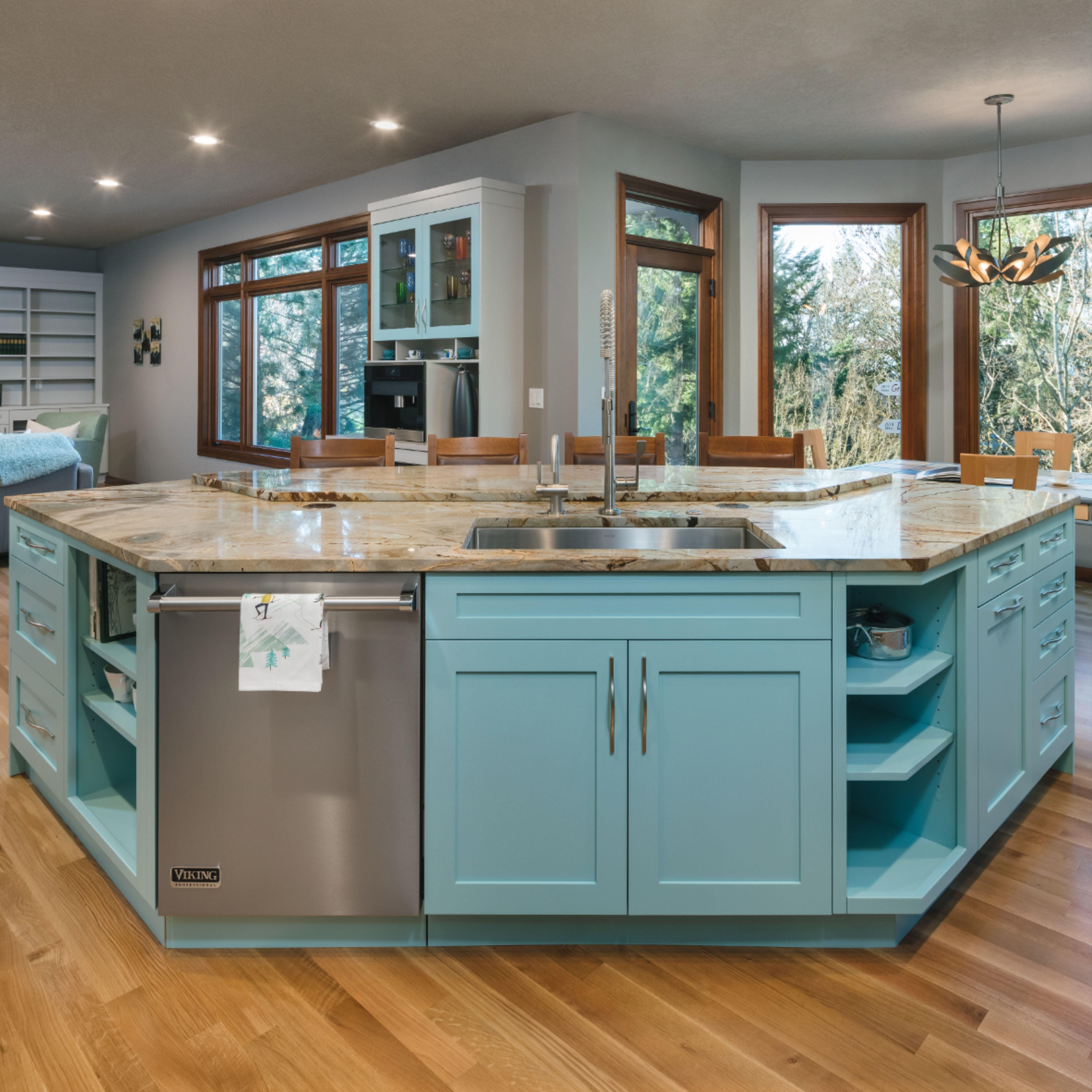 Unique Kitchen Island Shapes Kitchen Island Shapes Open Floor Plan Kitchen Kitchen Decor Items