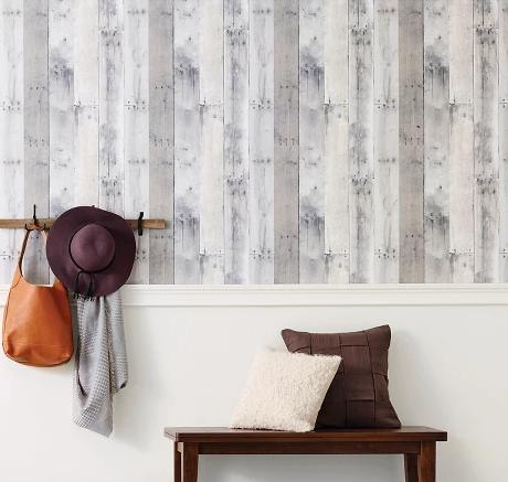 Target Devine Color Reclaimed Wood Peel Stick Wallpaper Mirage Devine Color Prints And Patterns Reclaim Peel And Stick Wallpaper Wood Wallpaper Wallpaper