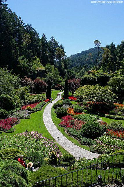 Butchart Gardens, Victoria, BC, Canada Favorite Places  Spaces - paisajes jardines