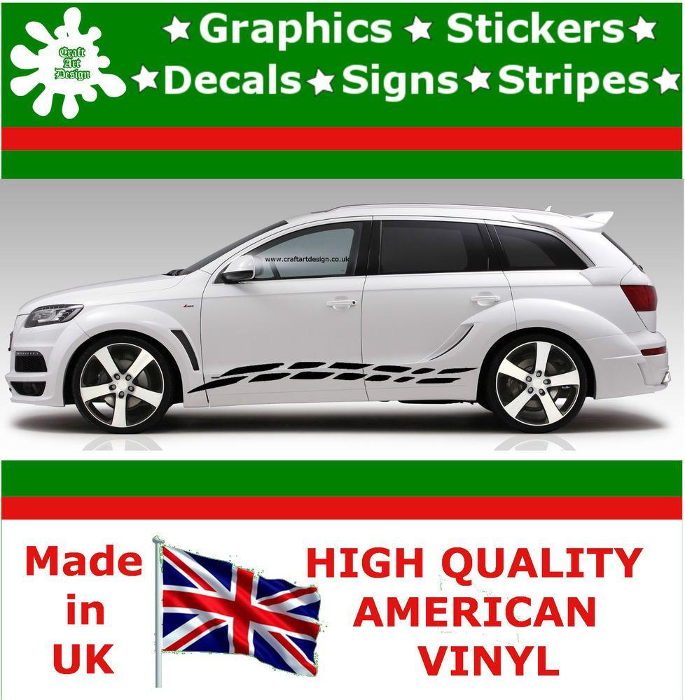 2x Vinyl Decal Sticker Stripes Racing Set Art Car Auto Rally Graphics Jdm Viper8 Racing Stickers Car Stripes Car Graphics