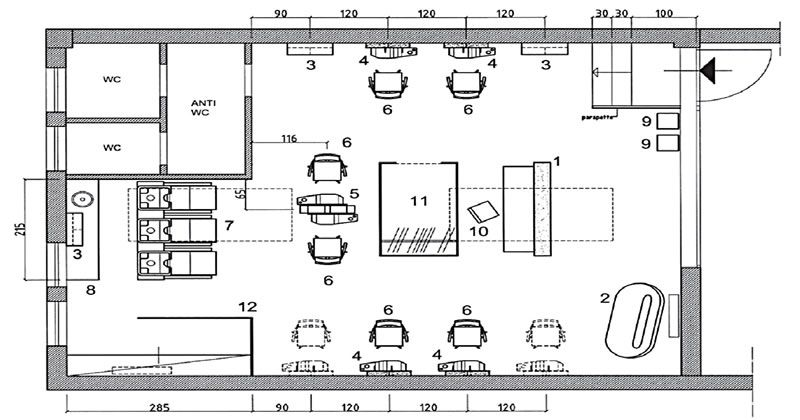 agencement de salon de coiffure mobilier pour coiffeurs. Black Bedroom Furniture Sets. Home Design Ideas