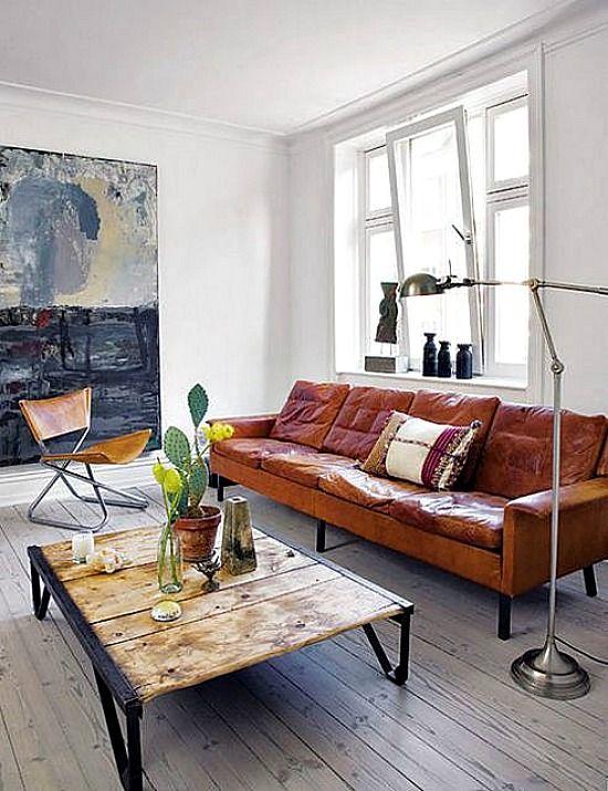 Como Combinar Un Sofa De Cuero Marron Decoracion Oriental Decoracion De Interiores Decoracion De Unas