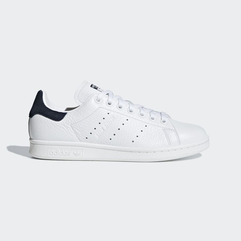 2182e719582 Stan Smith Shoes Cloud White   Cloud White   Collegiate Navy B41626 ...