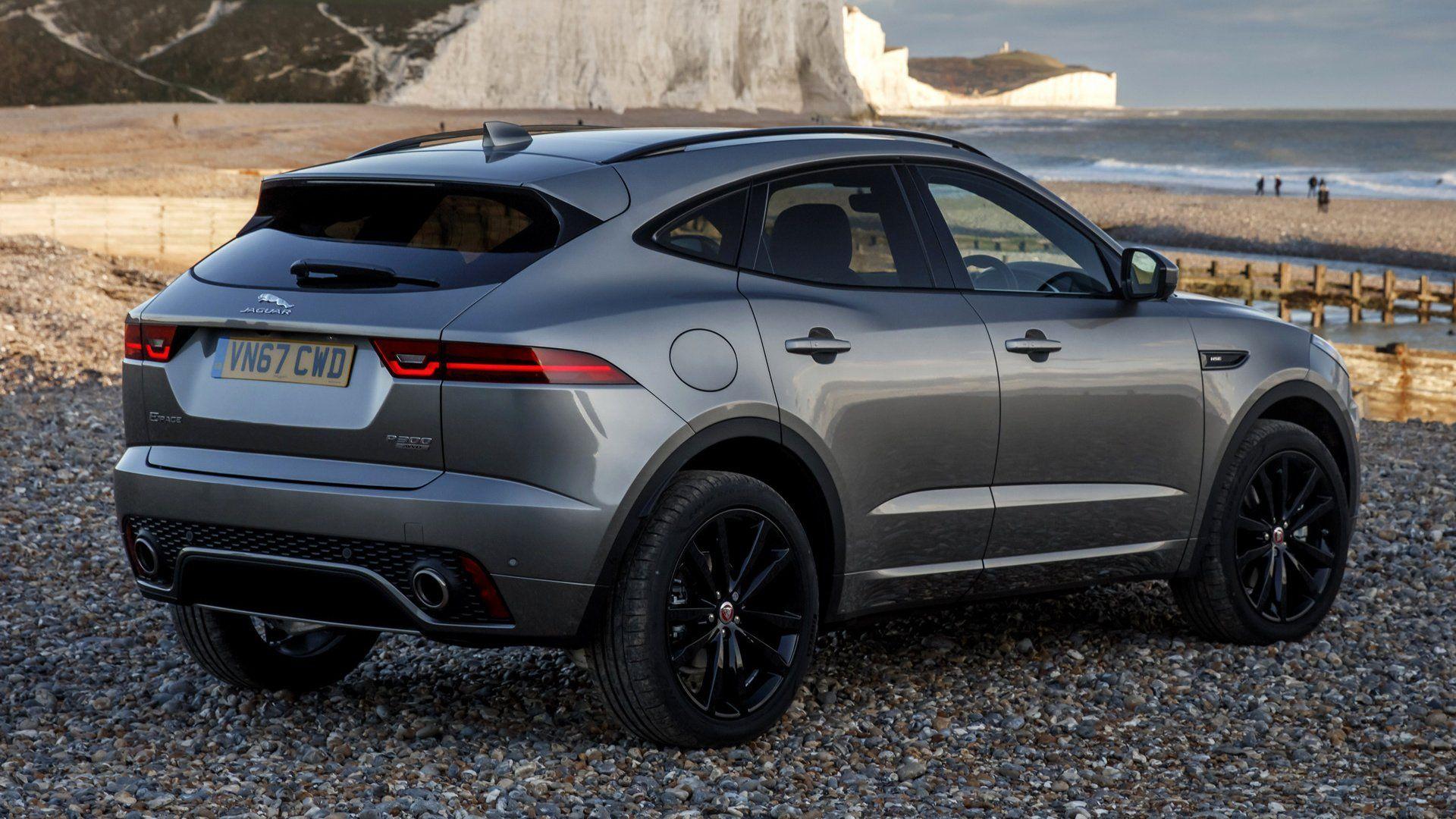Vehicles Jaguar EPace Luxury Car Compact Car SUV Black