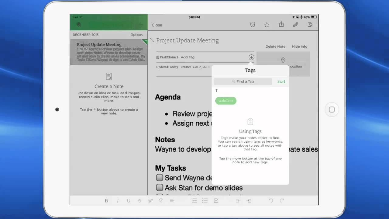 Demo Taskclone Sends Tasks From Evernote To Your Favorite Task