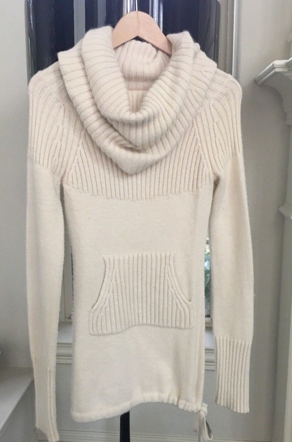 Awesome Amazing ANTHROPOLOGIE Sleeping on Snow Cowl Neck Sweater ...