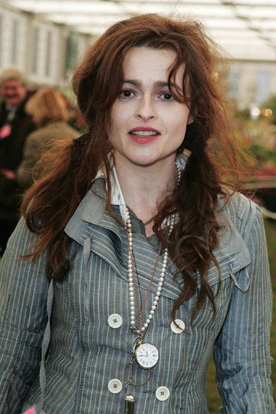 Helena Bonham Carter :D <3 love her necklaces and hair! :))