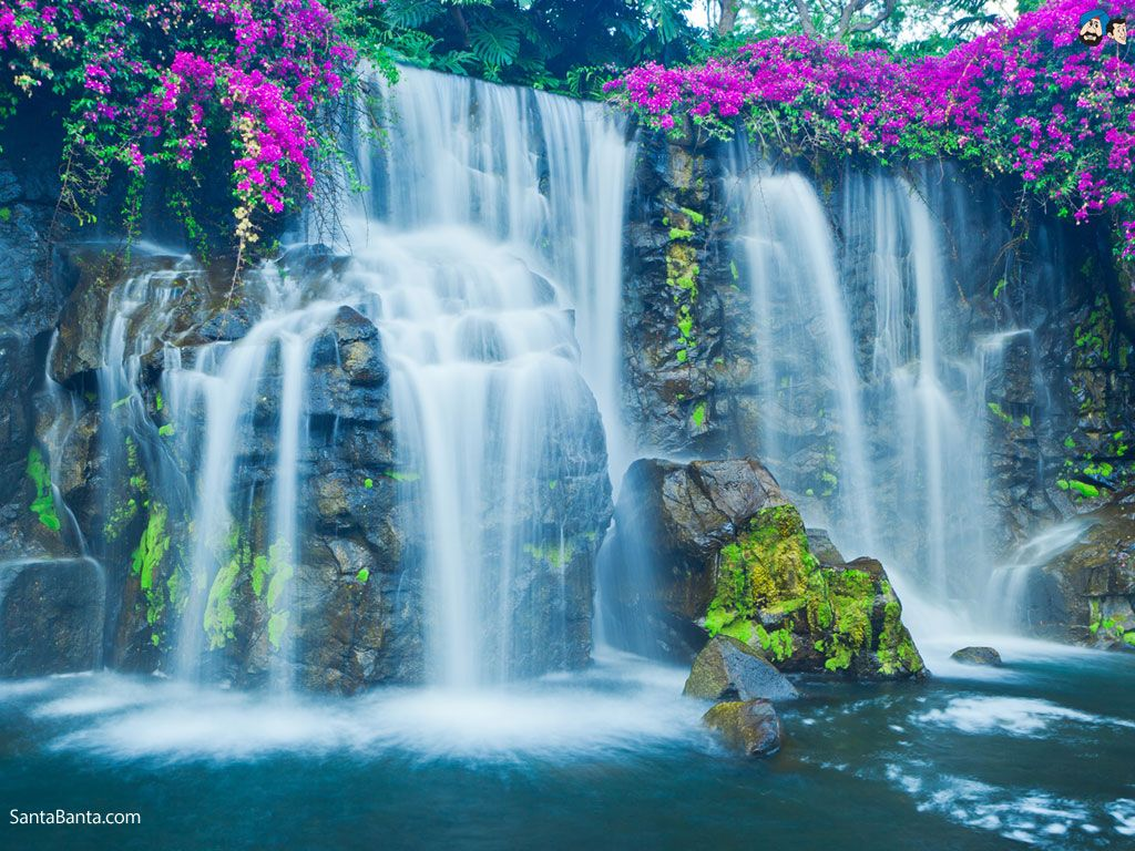 Outdoors Waterfalls Wallpaper 28 Wallpapers Also Available In 1024x768 1280x1024 1920x1080 1920x1200 Screen Waterfall Wallpaper Waterfall Pictures Waterfall