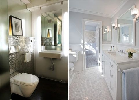 Amazing White Silver Bathroom Bathroom, Houses, Interior, Room Ideas, Room  Ideasforhouses, Part 18
